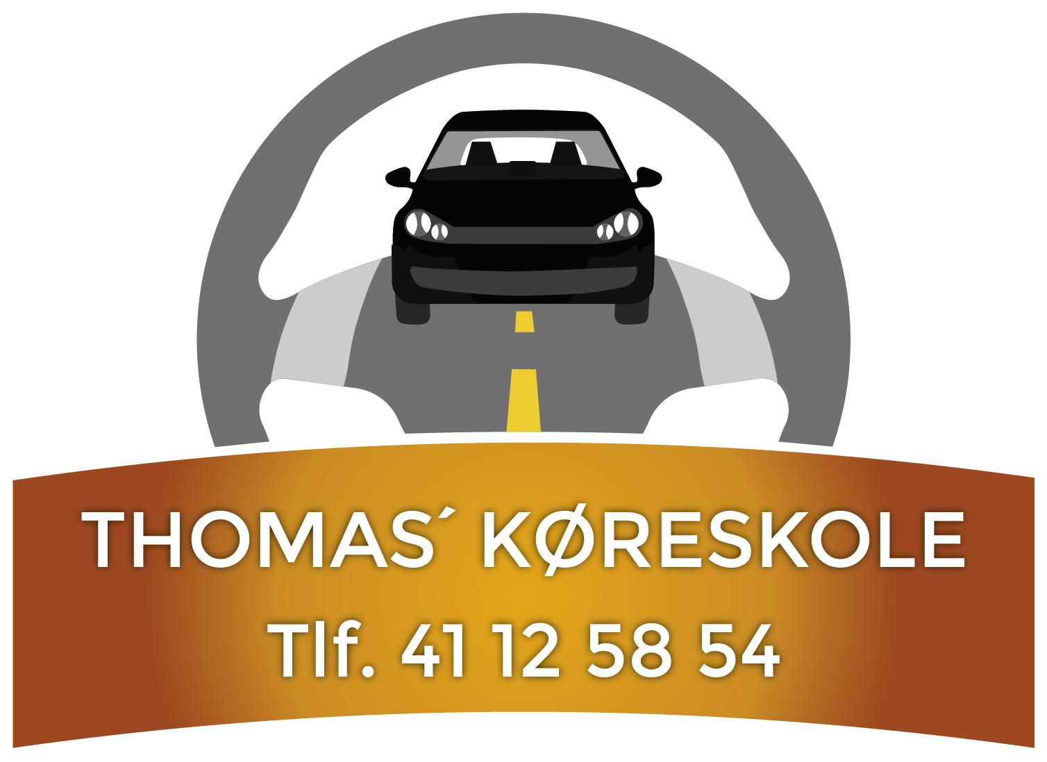Thomas's køreskole Logo